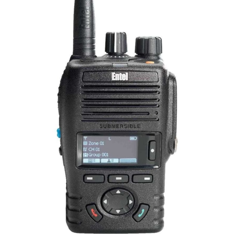 Entel - DX446L Digital Licence Free Screened Radio