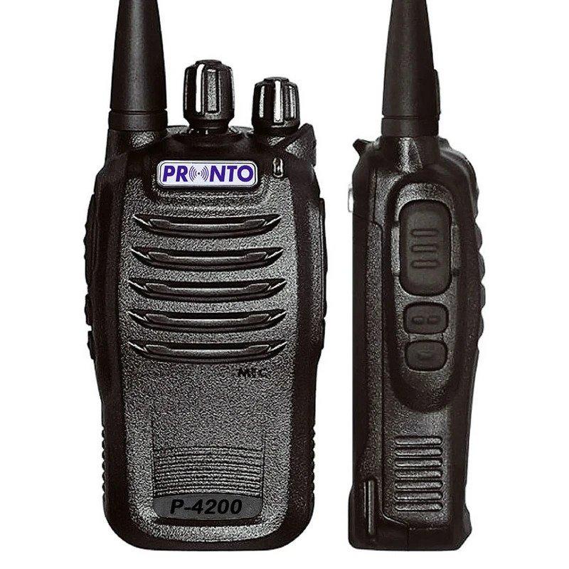 Pronto - P-4100/4200 Licensed Analogue Radio