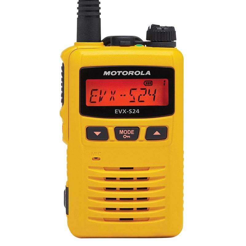 Motorola - EVX-S24 Digital Portable Radio