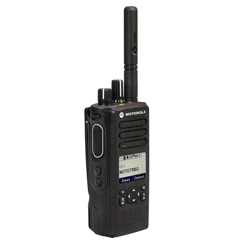 Motorola - DP4600e MOTOTRBO Digital Radio
