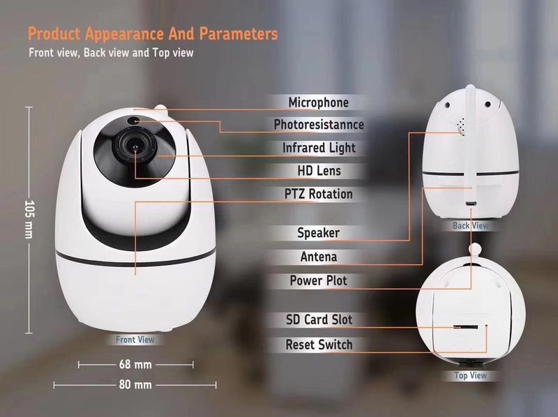 Pronto P-ZO1000A Wifi Camera