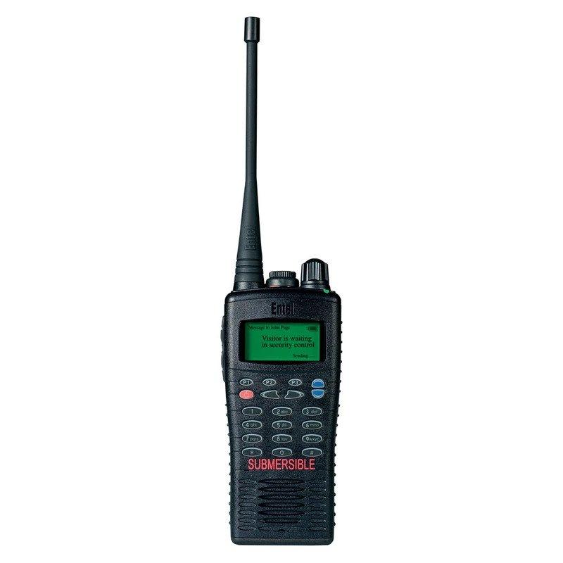 Entel - HT826/886 ATEX Portable Radio with Full Keypad