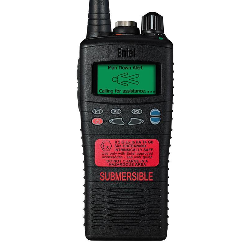Entel - HT825/885 ATEX Portable Radio with Advanced Signalling