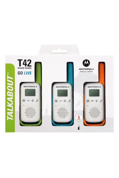 Motorola Talkabout T42 Triple Pack